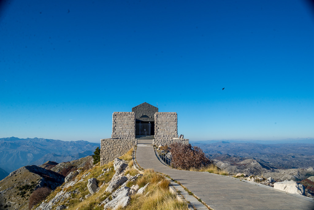 National park Lovcen - Njegos Mausoleum