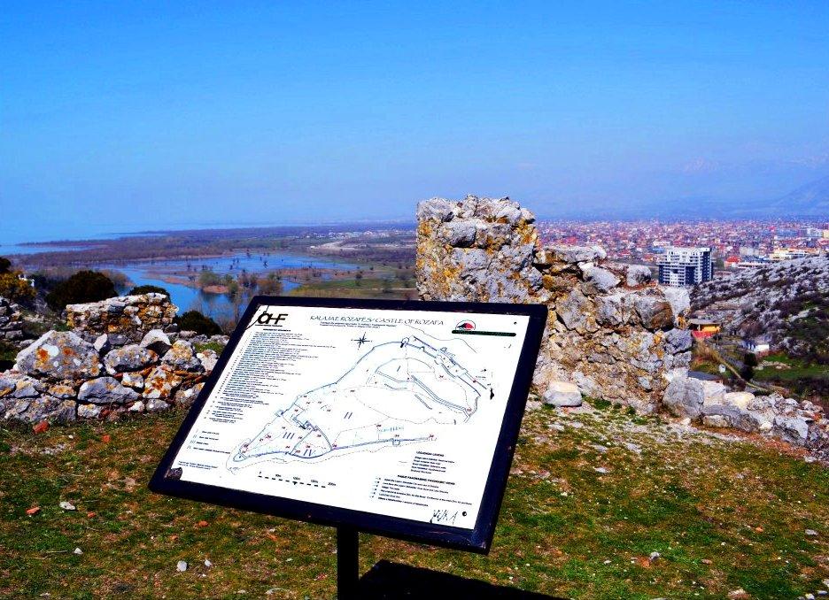 Rozafa Castle Skadar - Albania