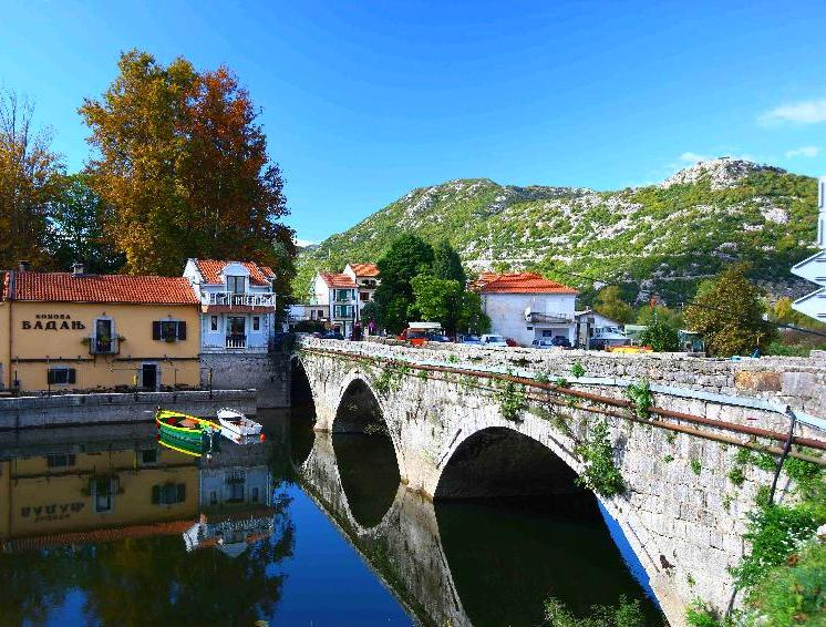 Skadar Lake - Old Bridge in Virpazar