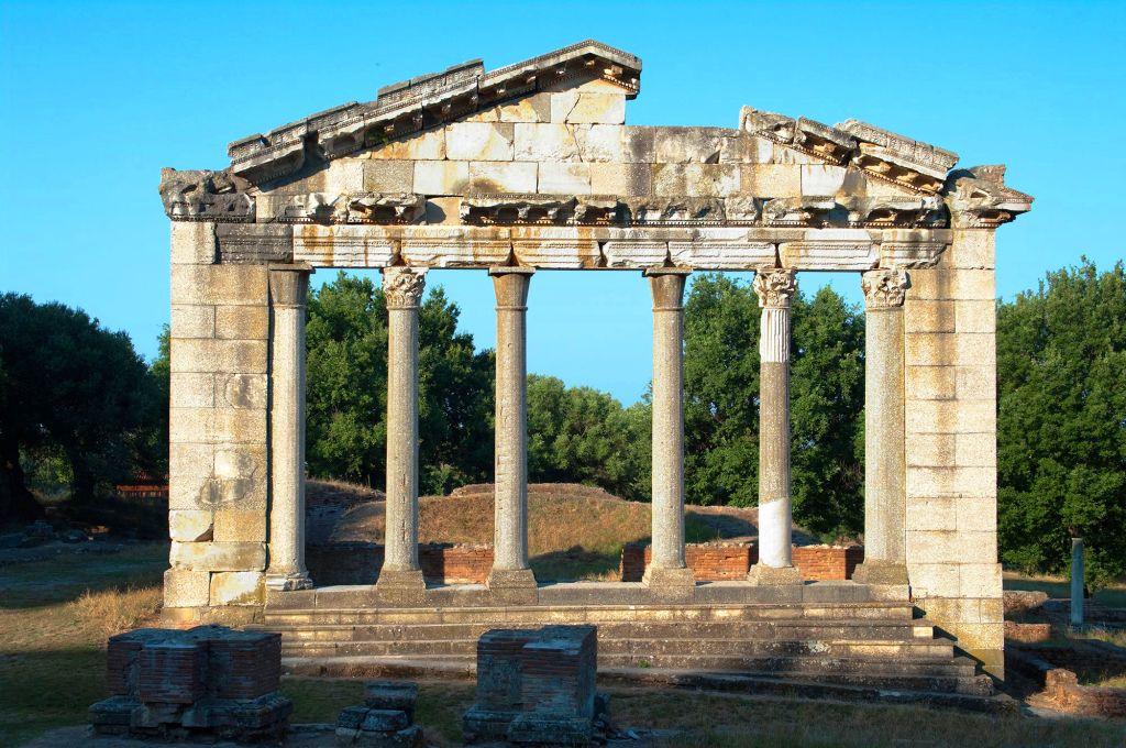 Temple of Apollonia - Albania