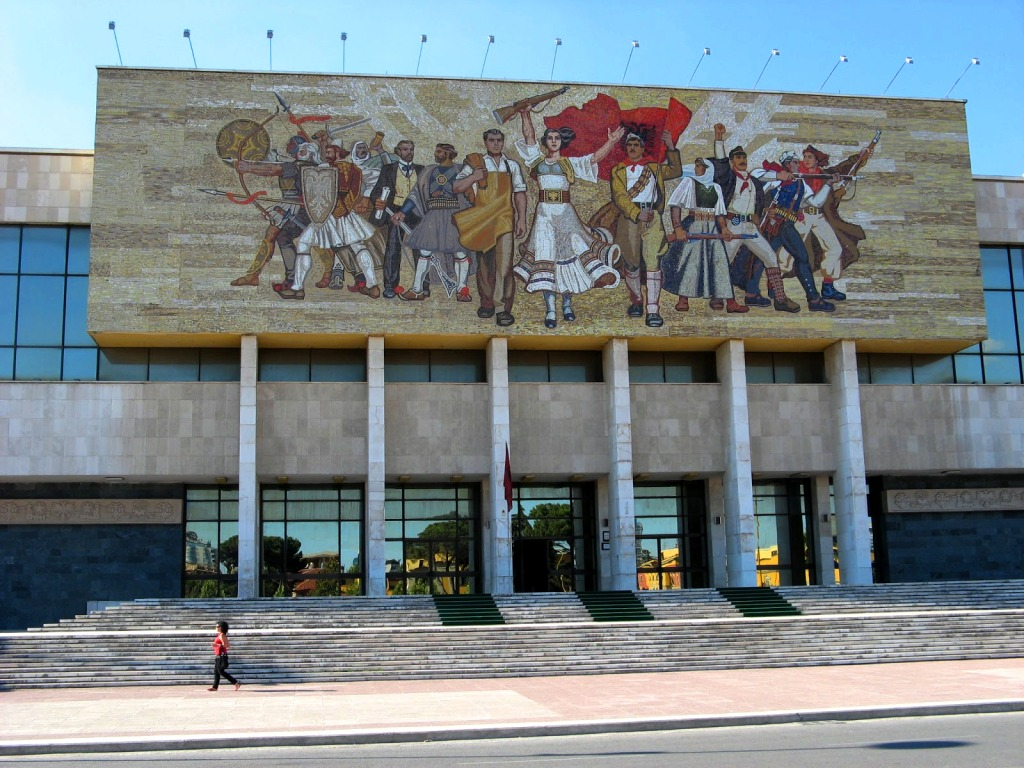 The National History Museum, Tirana