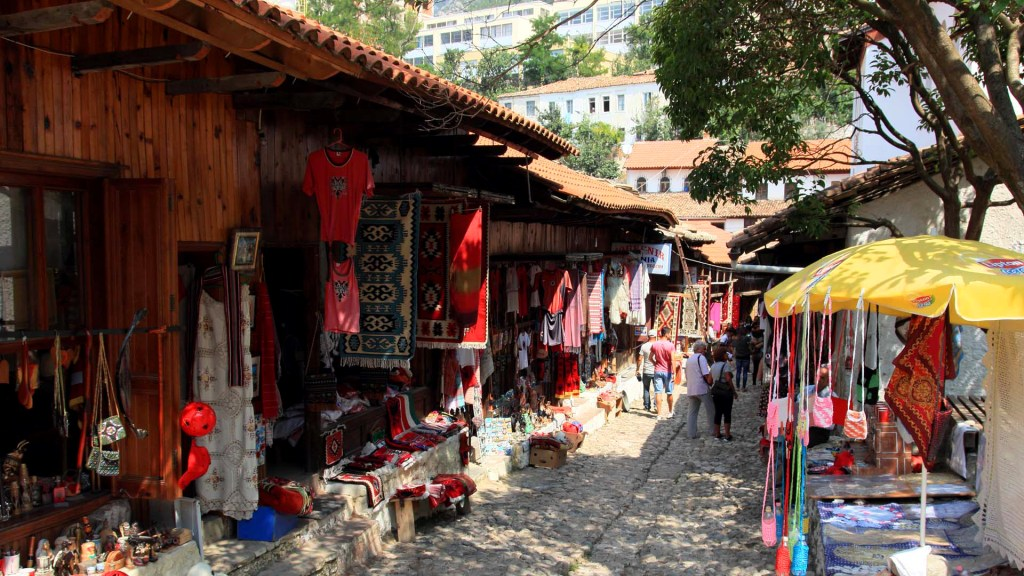 The Old Bazaar Kruja - Albania