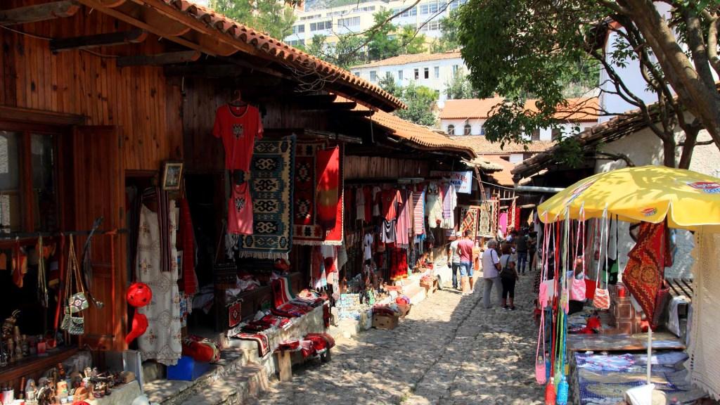 The Old Bazaar Kruja - Albania
