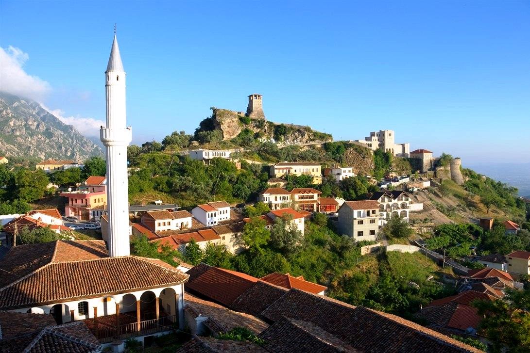 Kruja a charming medieval village in Albania