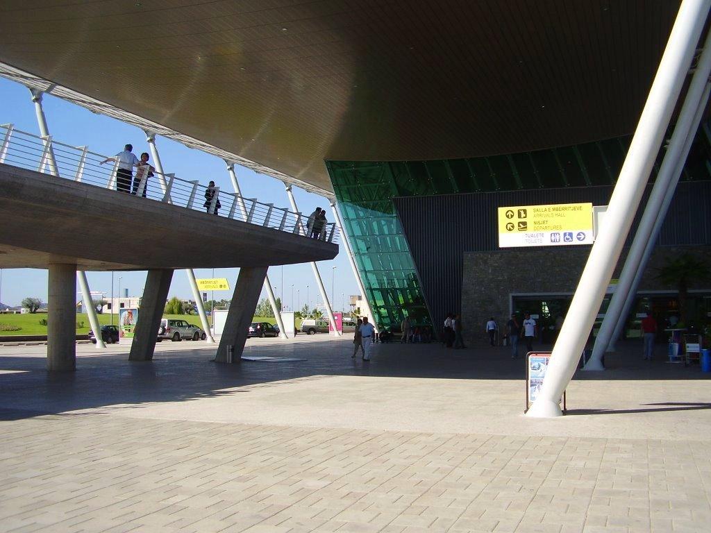 Aéroport à Tirana, Albanie
