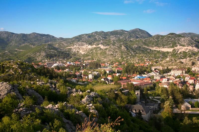 L'ancienne capitale du royaume Cetinje - Monténégro
