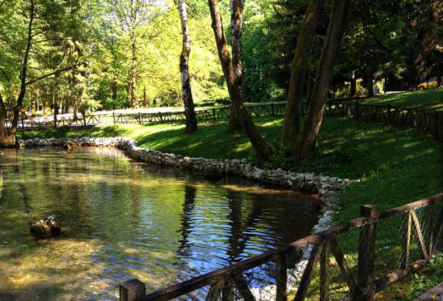 Bosna River Springs Ilidza - Sarajevo