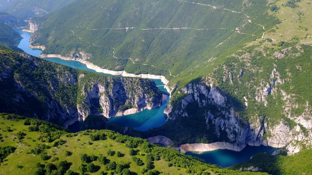Canyon de la rivière Piva - Monténégro