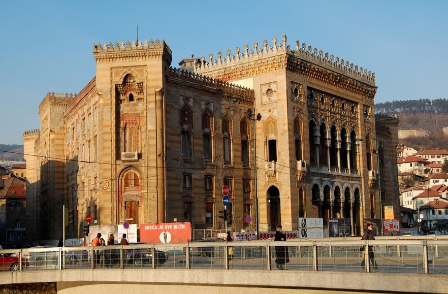 City Hall (Vijecnica), Sarajevo, Bosnia and Herzegovina