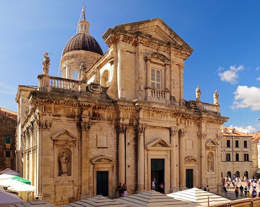 Dubrovnik Cathedral in Dubrovnik Old Town