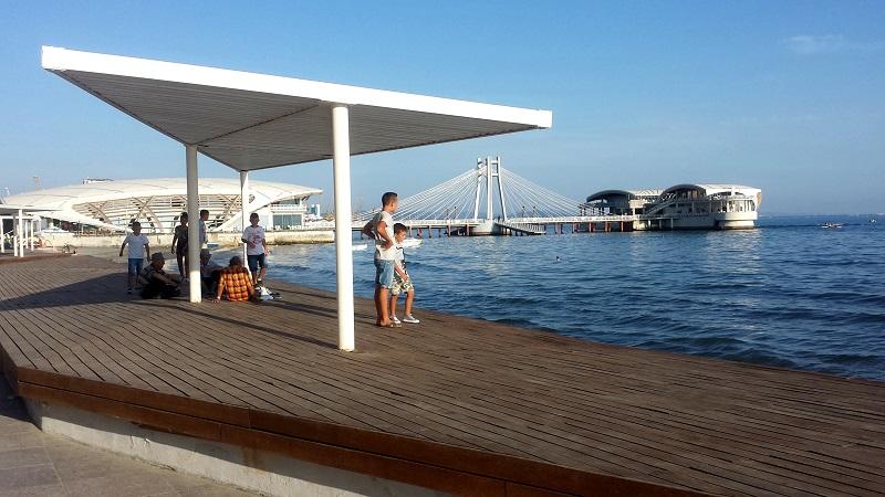 Durres Seafront Promenade