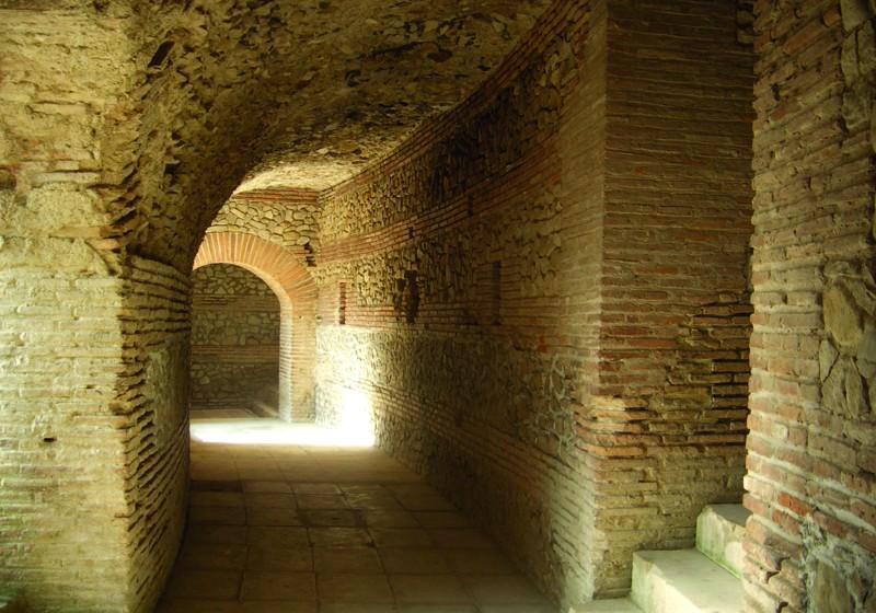 Durres Amphitheatre Passageways