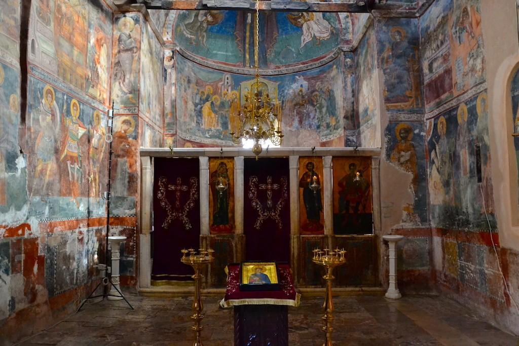 Fresques au Patriarcat de Pec