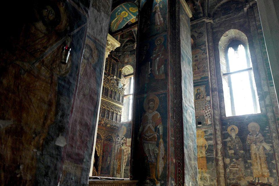 Fresques au monastère de Decani