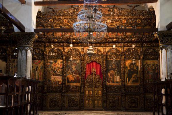 Iconostase dans Musée Onufri Berat