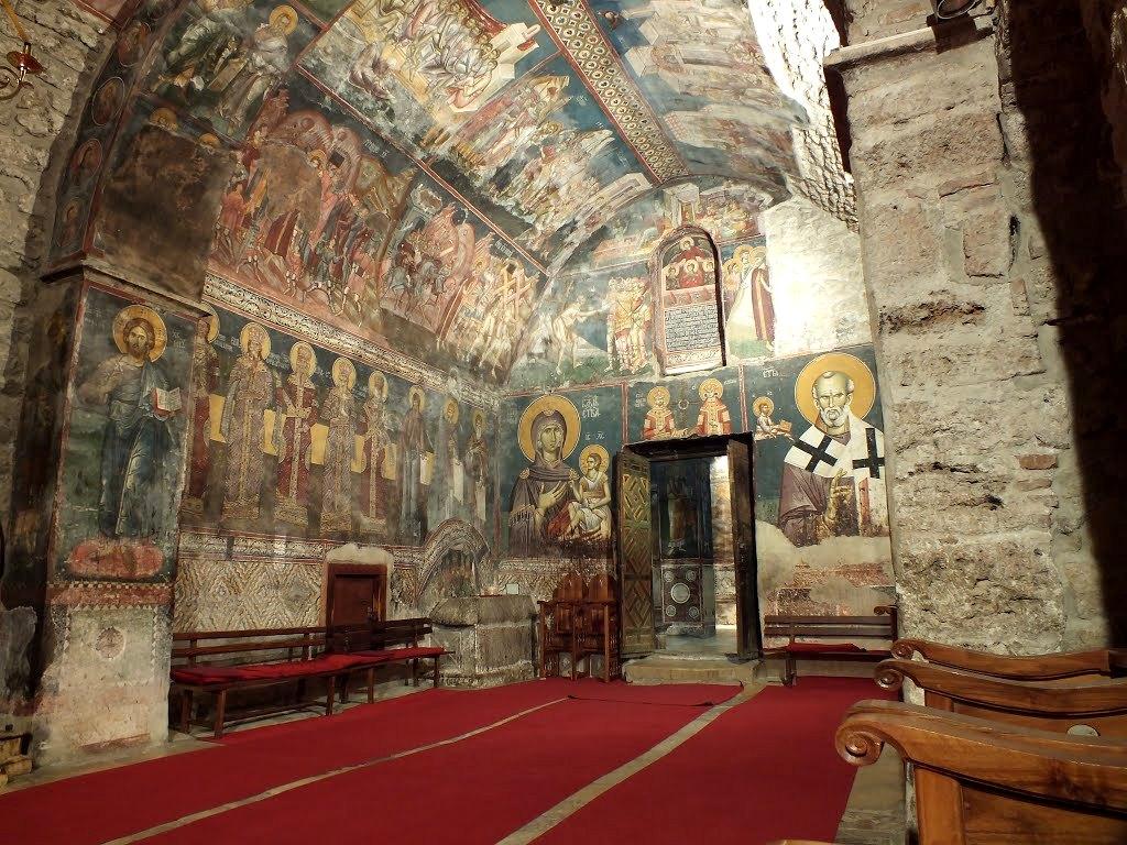 Intérieur du Patriarcat de Pec