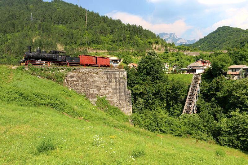 Jablanica - Le pont symbole de la bataille de la Neretva