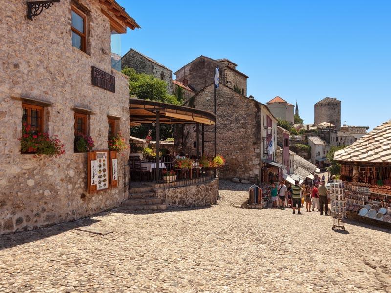 le vieux bazar Mostar - Bosnie-Herzégovine