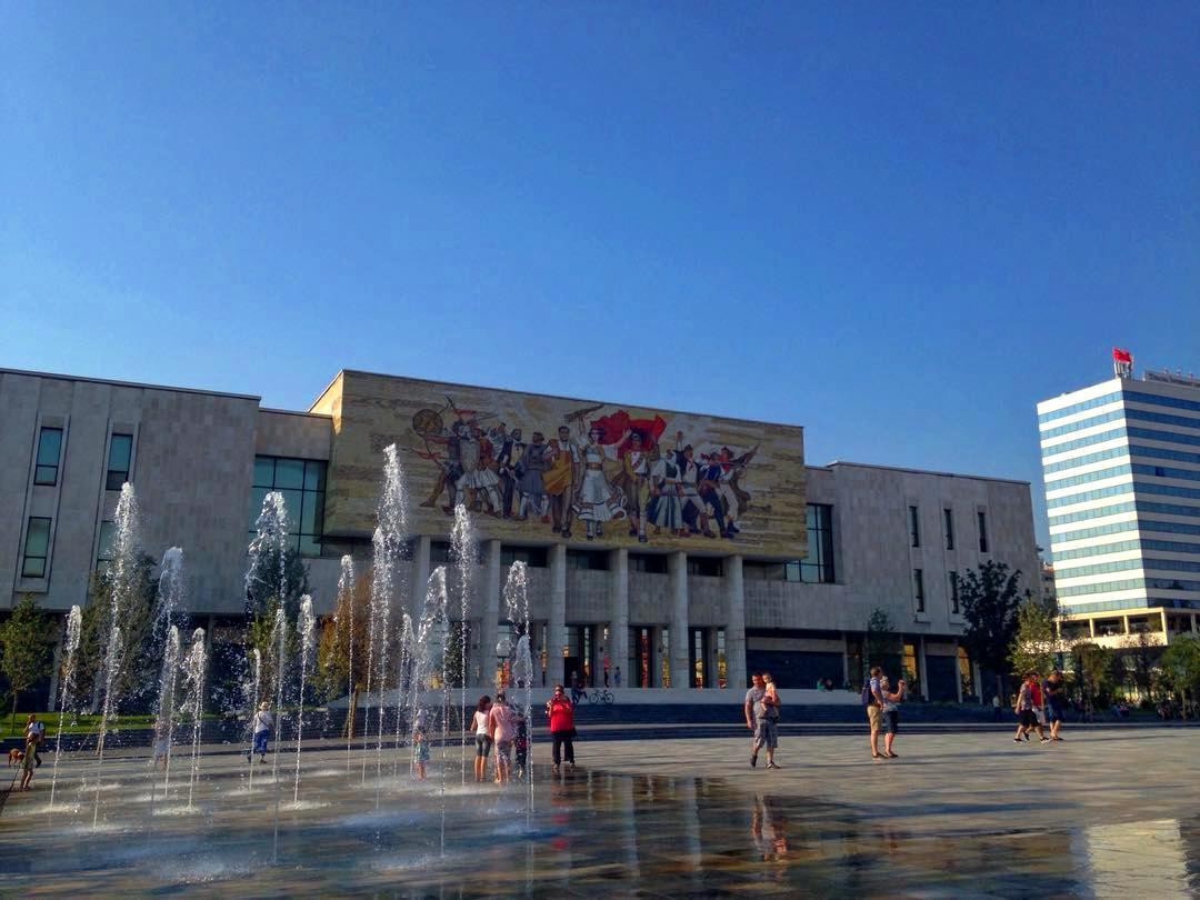 La capitale de l'Albanie Tirana