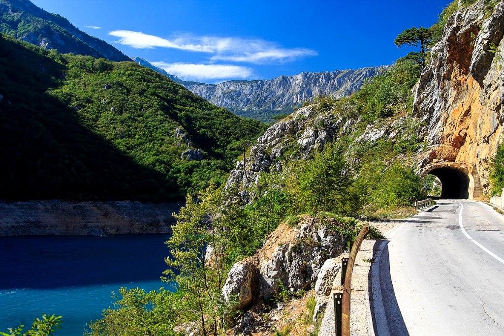 Lac de Piva Monténégro