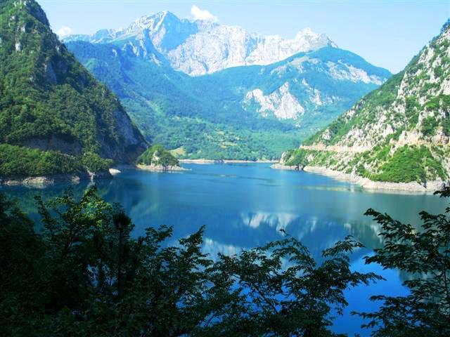 Lac de la Piva Monténégro