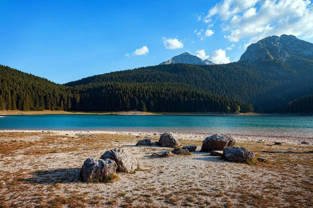 Le Lac Noir du Parc Durmitor, Monténégro