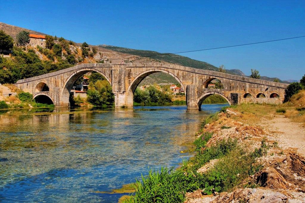Le Pont Arslanagic, Trebinje - Bosnie-Herzégovine