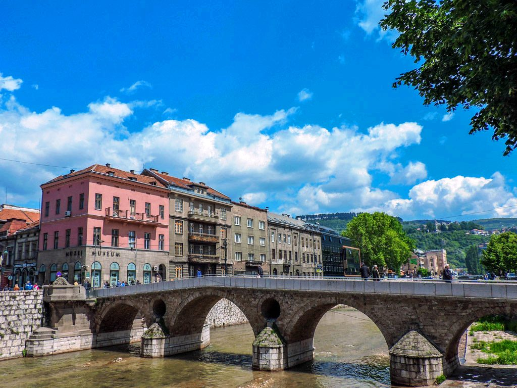 Le Pont Latin Sarajevo Bosnie-Herzégovine
