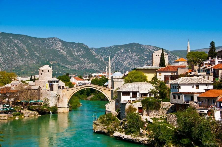 Le vieux Pont Mostar - Bosnie-Herzégovine
