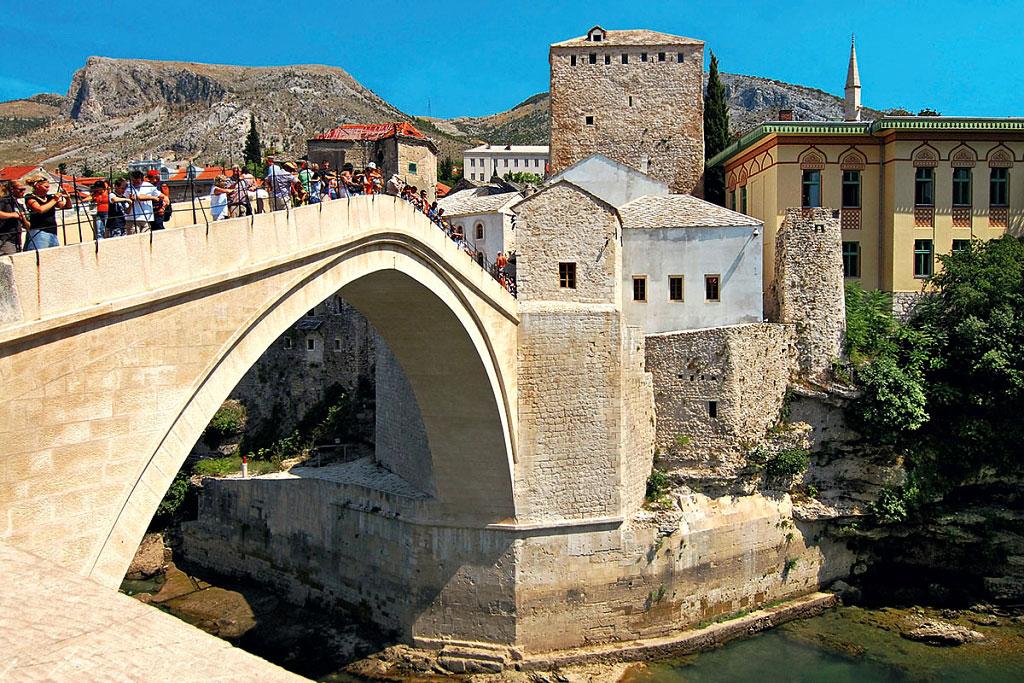 Le vieux Pont - Stari Most - Mostar
