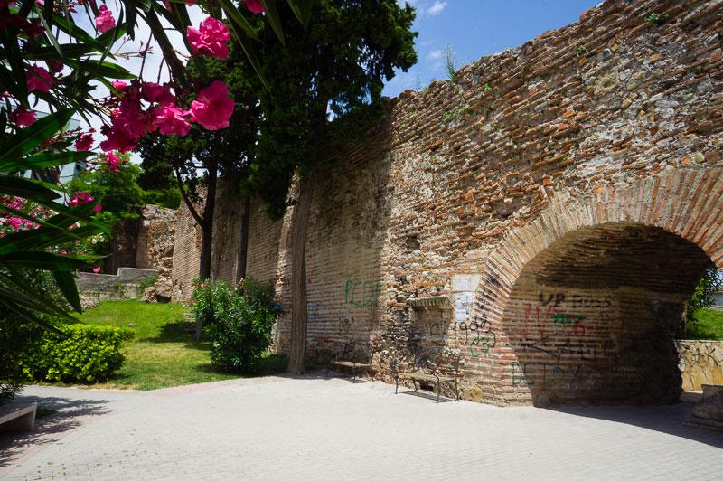 Les Murs Byzantins Durres