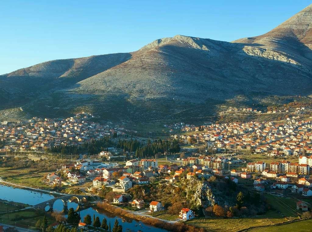 Magnifique vue sur l'ensemble Trebinje