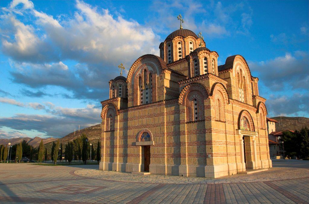 Monastère Orthodoxe Gracanica d'Herzégovine Trebinje