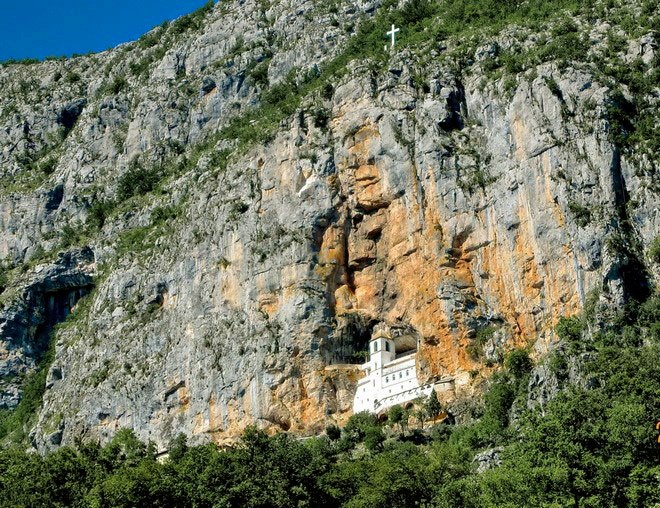 Ostrog Monastery a miracle built by nature and human interaction