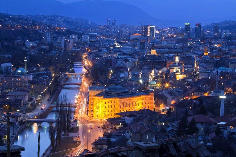 Sarajevo, la capitale de la Bosnie-Herzégovine