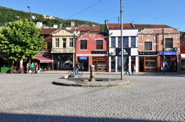 La place Shadervan Prizren