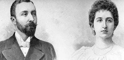 Ana Petrovic Njegos and Franz Joseph, the Prince of Battenberg