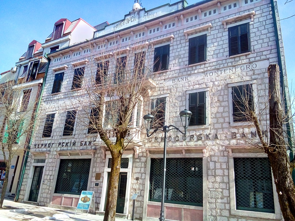 Bank of Montenegro Building - Cetinje