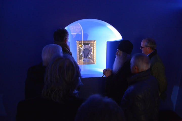 Blue Chapel Cetinje - Icon Virgin Filermosa