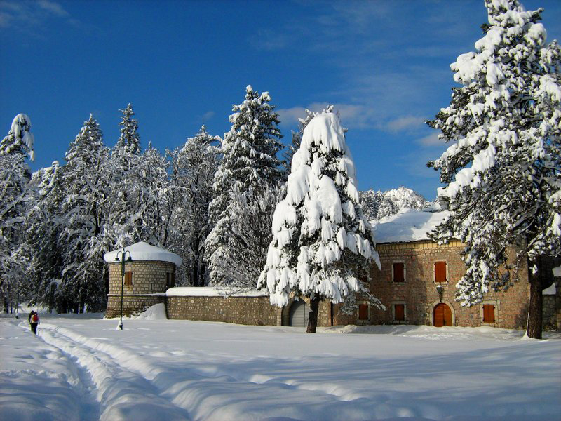 Cetinje under the snow