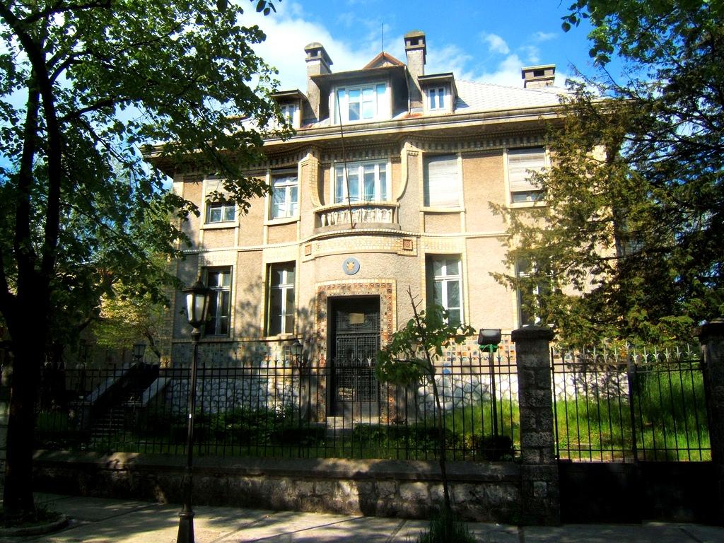 Former French Embassy Cetinje