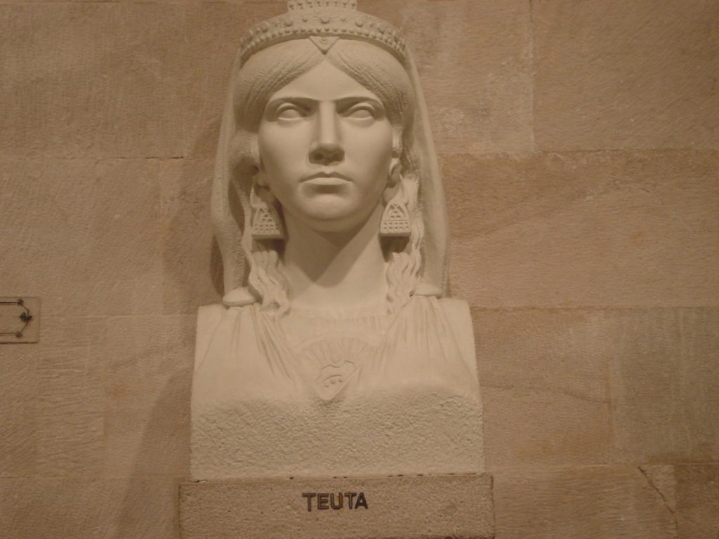 Illyrian queen Teuta