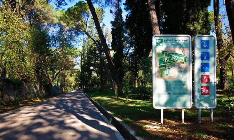 Large Town Park Tivat