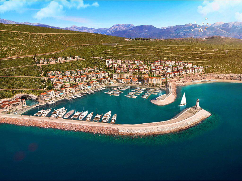 Lustica Bay Marina and Village
