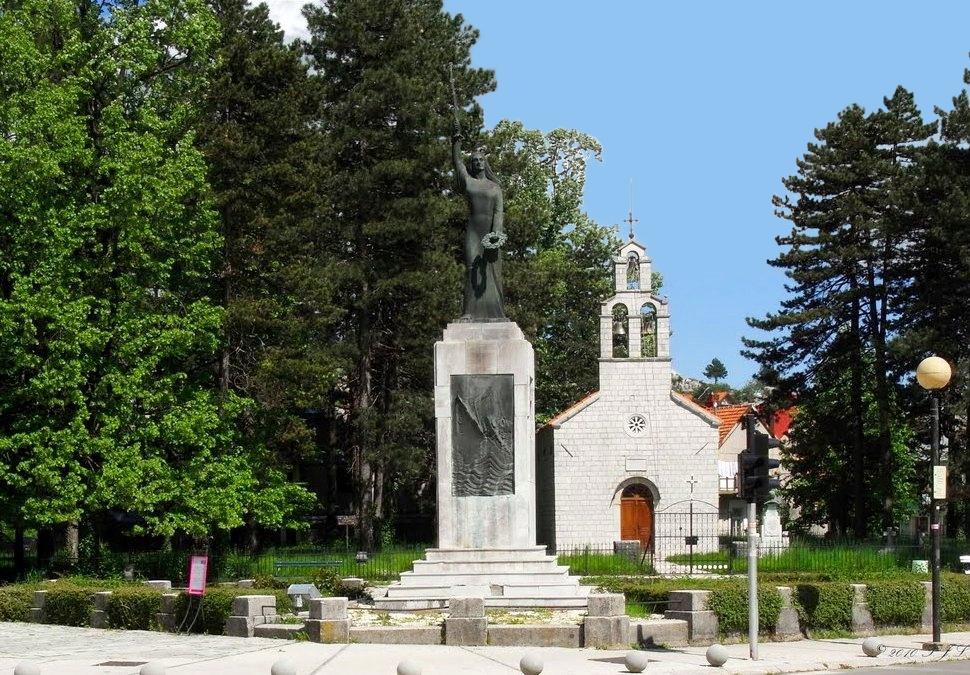 Monument Spirit of Lovcen (Lovcenska vila) Cetinje