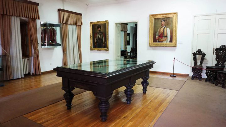 Njegos Museum - Billiard room Cetinje