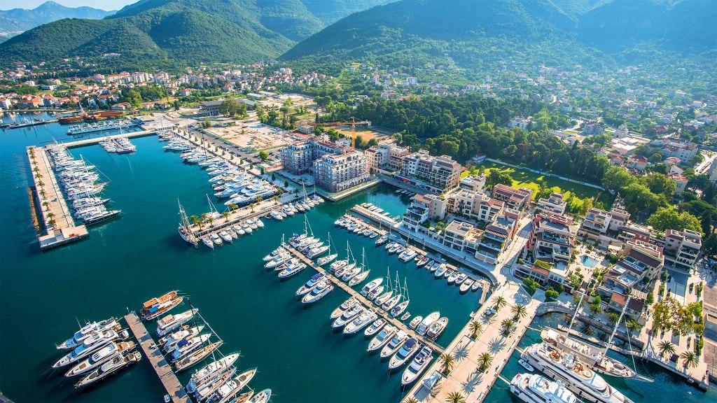 Porto Montenegro superyacht heaven