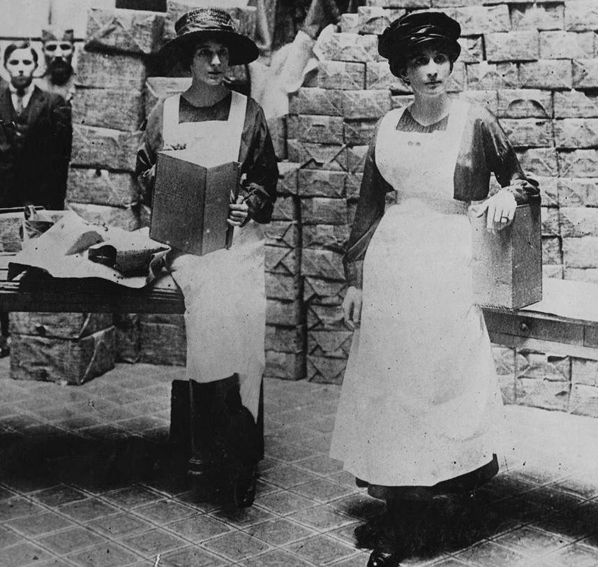 Princesses Ksenija and Vjera of Montenegro