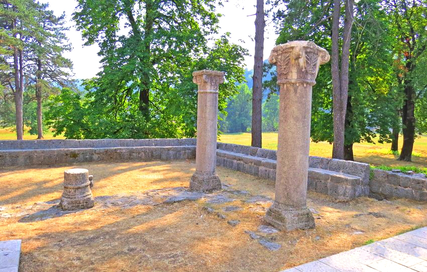 Remains of Crnojevic Monastery Cetinje