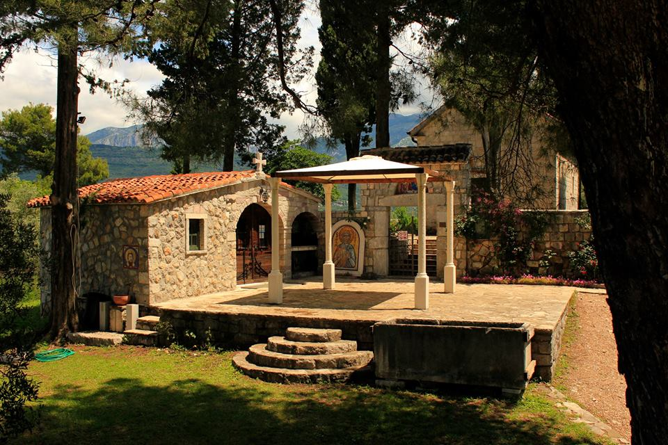 Remains of St Michael monastery Prevlaka